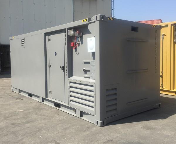 Container per la manutenzione